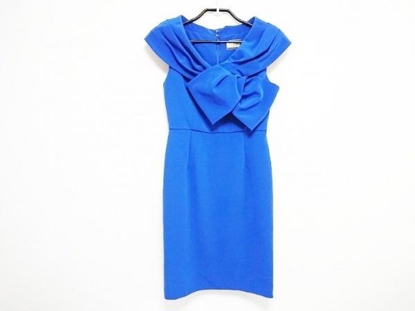 ダイアグラム ドレス サイズ34 レディース 美品  ブルー