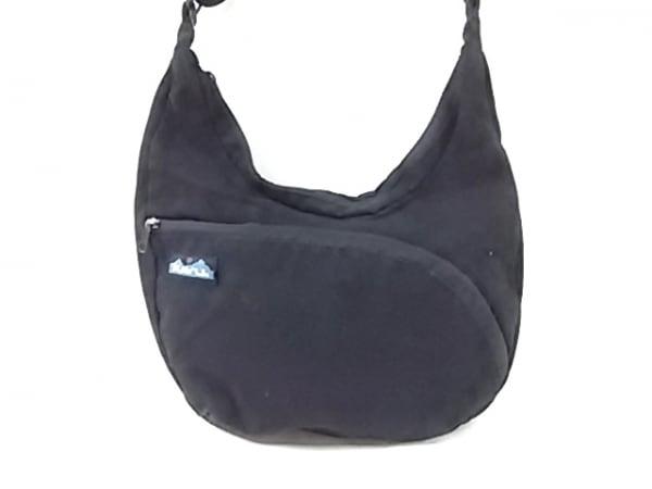 KAVU(カブー) ショルダーバッグ 黒 キャンバス