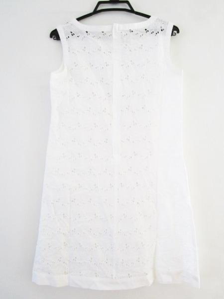 ALMA EN ROSE(アルマアンローズ) ワンピース サイズ38 M レディース 白 刺繍
