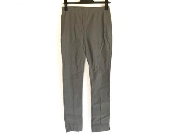 シズカコムロ パンツ サイズ40 M レディース ダークグリーン ウエストゴム/4298
