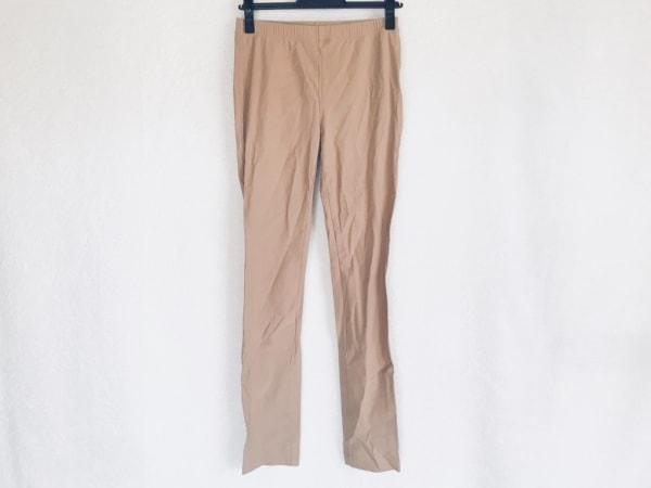 シズカコムロ パンツ サイズ40 M レディース ライトブラウン ウエストゴム/4298