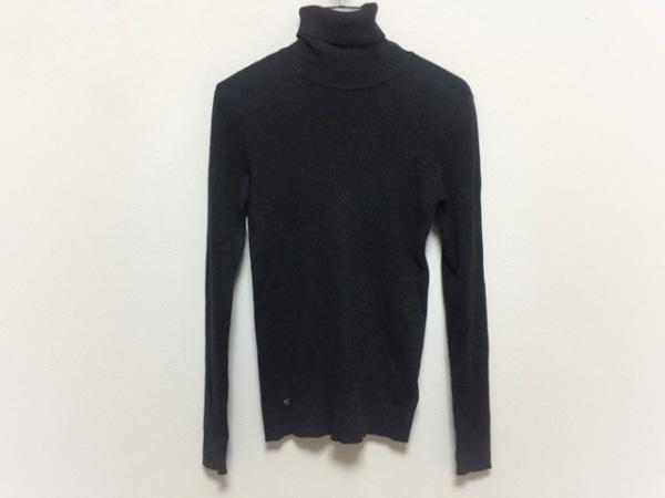 ラルフローレン 長袖セーター サイズS レディース美品 ダークグレー タートルネック