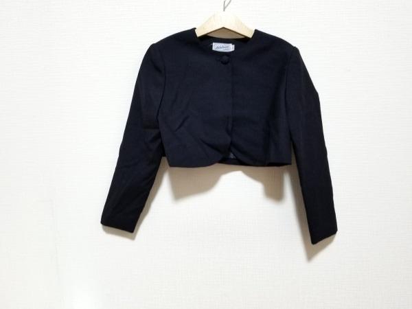 miki HOUSE(ミキハウス) ジャケット サイズ130 レディース美品  黒 子供服/肩パッド