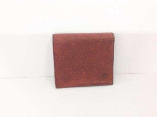 organ(オルガン) 2つ折り財布 ダークブラウン レザー