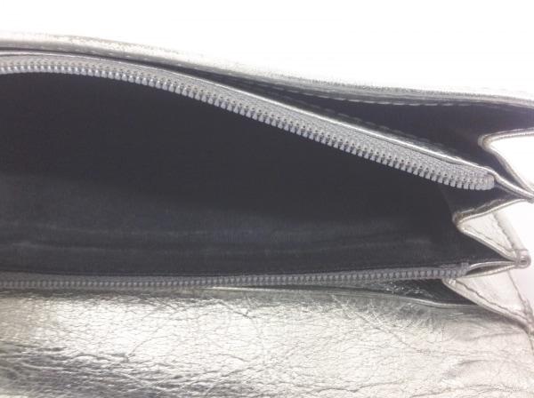 7730148d0ebc CELINE(セリーヌ) 長財布 - シルバー レザーの中古 | CELINE ブランド ...