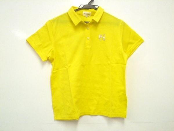 PICONE(ピッコーネ) 半袖ポロシャツ サイズ2 M レディース イエロー