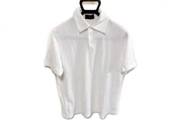 ZANONE(ザノーネ) 半袖ポロシャツ サイズ48 XL メンズ 白