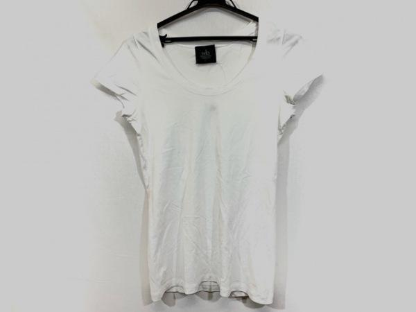 wb(ダブリュービー) 半袖Tシャツ サイズ38 M レディース 白 REVISION