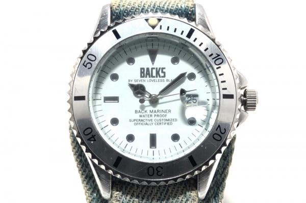 BACKS(バックス) 腕時計 - メンズ 白