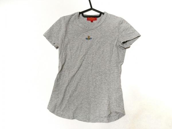 ヴィヴィアンウエストウッドレッドレーベル 半袖Tシャツ サイズXS レディース グレー