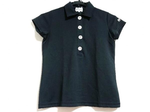 PICONE(ピッコーネ) 半袖ポロシャツ サイズ0 XS レディース新品同様  黒