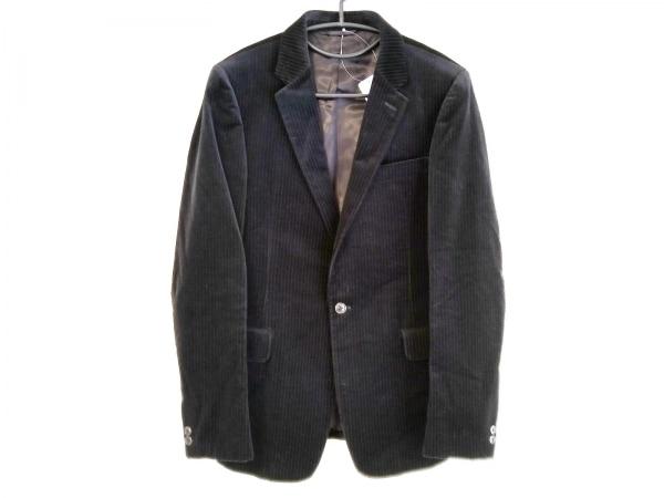 UNITED ARROWS(ユナイテッドアローズ) ジャケット サイズ2 M メンズ 黒×ダークグレー