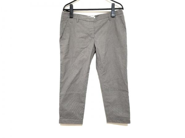PRADA(プラダ) パンツ サイズ40S レディース グレー ストライプ