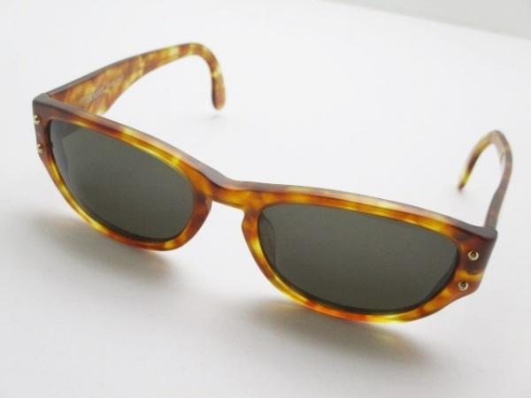 OLIVER(オリバーバレンチノ) サングラス 黒×ブラウン プラスチック