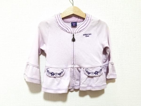 アナスイミニ ワンピース サイズ110 レディース美品  ピンク×パープル 子供服