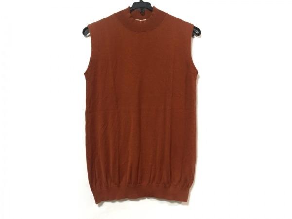 ENFOLD(エンフォルド) ノースリーブセーター サイズ38 M レディース美品  ブラウン