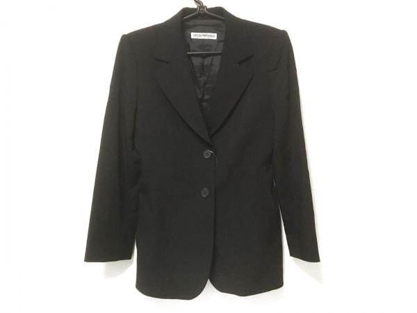 EMPORIOARMANI(エンポリオアルマーニ) ジャケット メンズ 黒 肩パッド