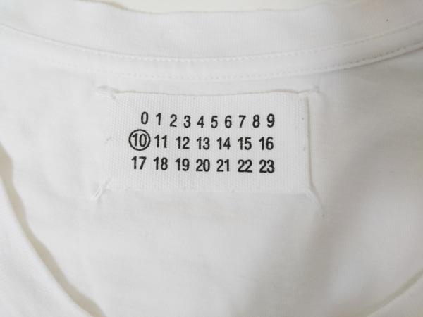MARTIN MARGIELA(マルタンマルジェラ) 半袖Tシャツ サイズ44 M メンズ 白