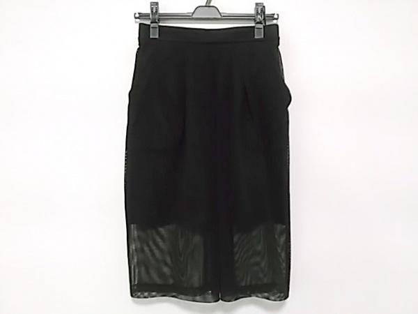 オープニングセレモニー スカート サイズS レディース美品  黒 メッシュ