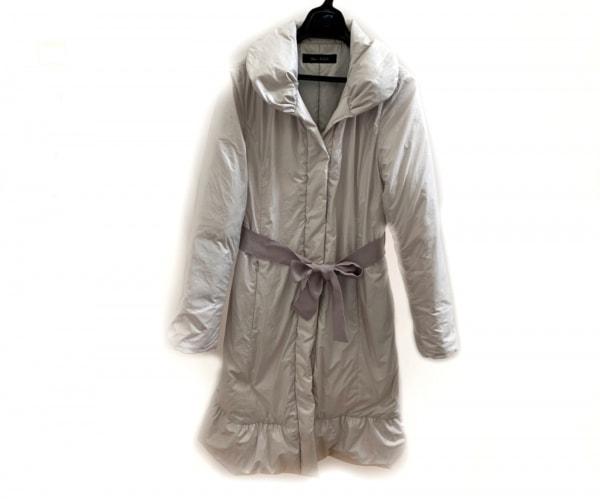 MissALICE(ミスアリス) ダウンコート サイズ2 M レディース美品  ライトグレー 冬物