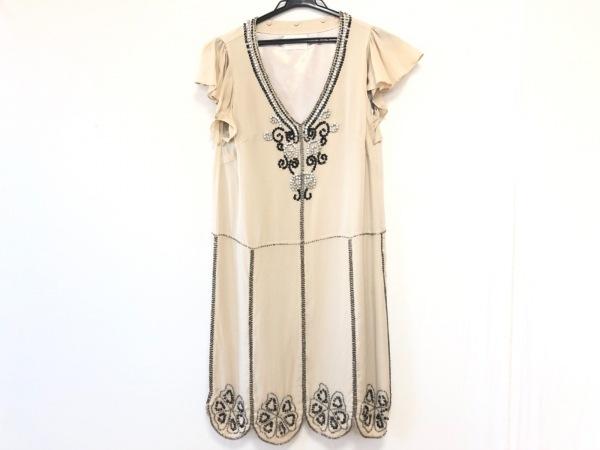 Grace Class(グレースクラス) ドレス サイズ36 S レディース ベージュ ビジュー