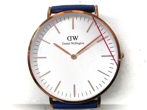 Daniel Wellington(ダニエルウェリントン) 腕時計美品  B40R9 レディース 白