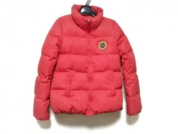 RODEOCROWNS(ロデオクラウンズ) ダウンジャケット サイズ2 M レディース レッド 冬物