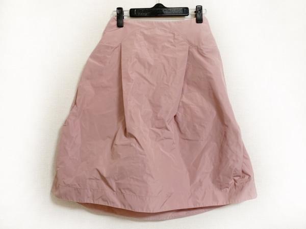 JILSANDER(ジルサンダー) スカート サイズ34 XS レディース美品  ピンク NAVY