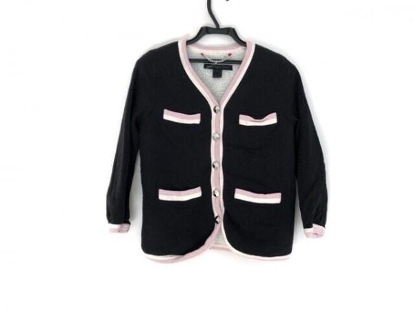 マークバイマークジェイコブス ジャケット サイズS レディース 黒×ピンク