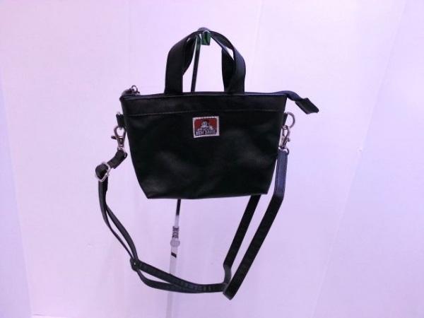 ベンデイビス ハンドバッグ 黒×クリア ミニサイズ PVC(塩化ビニール)×ビニール