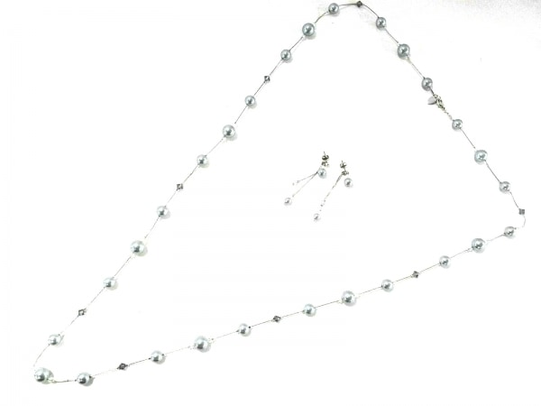 アンテプリマ アクセサリー美品  金属素材×フェイクパール×カラーストーン