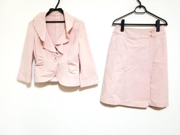 フランコフェラーロ スカートスーツ サイズ2 M レディース美品  ピンク