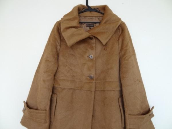 アドルフォドミンゲス コート サイズ40 M レディース ブラウン 冬物