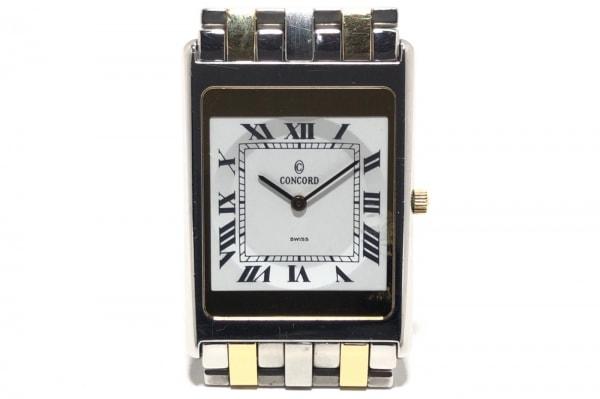 CONCORD(コンコルド) 腕時計 デリリューム 14 C1 617 Y レディース 白
