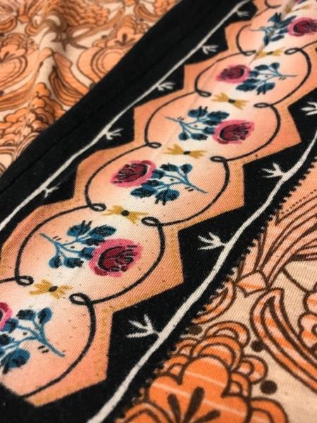ドーリーガール 七分袖カットソー サイズ2 S レディース美品  BY ANNA SUI/花柄