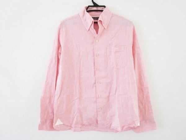 Laura Felice(ラウラフェリーチェ) 長袖シャツ サイズ48 XL メンズ ピンク