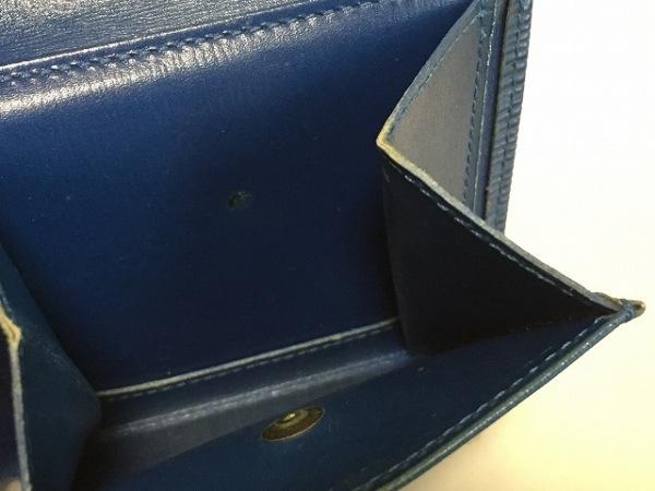 ルイヴィトン 2つ折り財布 エピ ポルトフォイユ・マルコ M60613 ブルーセレスト