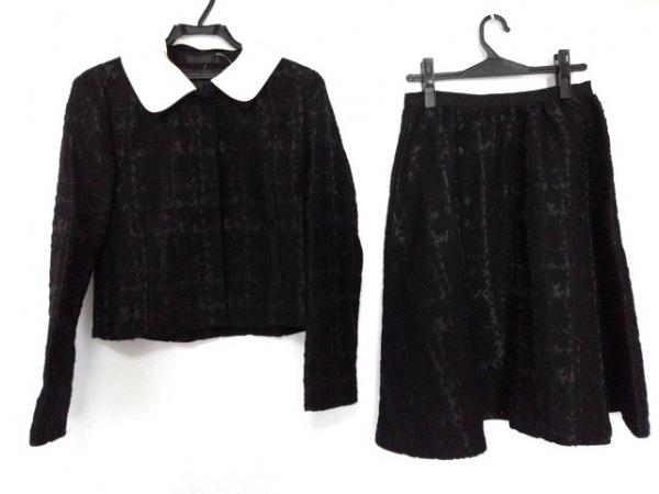 ピールスローリー スカートセットアップ サイズ38 M レディース美品  黒×白