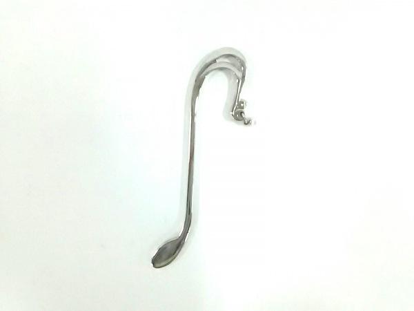 mikimoto(ミキモト) 小物 シルバー×白 ブックマーカー 金属素材×パール