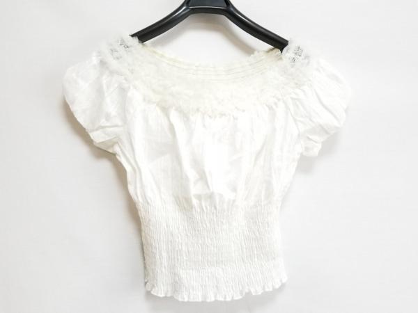 シークレットハニー 半袖カットソー サイズ2 M レディース美品  アイボリー