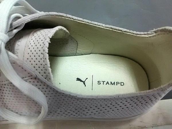 Stampd(スタンプド) スニーカー 23 レディース美品  ライトグレー ×PUMA レザー