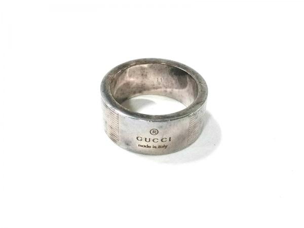 GUCCI(グッチ) リング - シルバー サイズ:11