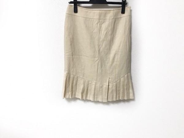MATERIA(マテリア) スカート サイズ38 M レディース美品  アイボリー プリーツ