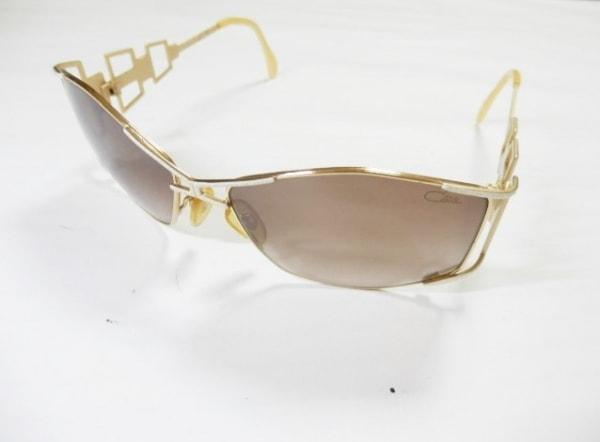 カザール サングラス MOD.944 ダークブラウン×ゴールド プラスチック×金属素材