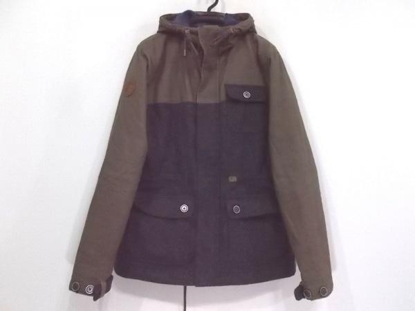 PENDLETON(ペンドルトン) コート サイズM メンズ美品  ブラウン×グレー 冬物