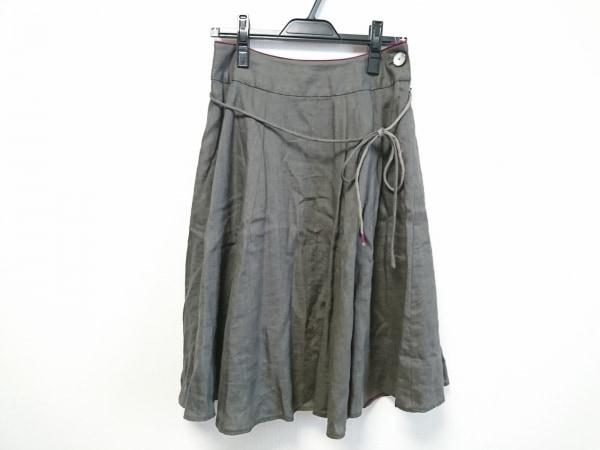 Pallas Palace(パラスパレス) スカート サイズ2 M レディース美品  ダークグレー