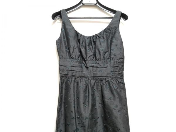 TOCCA(トッカ) ワンピース サイズ0 XS レディース 黒 刺繍/花柄