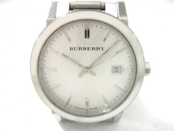 Burberry(バーバリー) 腕時計 BU9000 メンズ シルバー