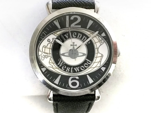 VivienneWestwood(ヴィヴィアン) 腕時計 VW-7065 レディース 革ベルト 白×黒