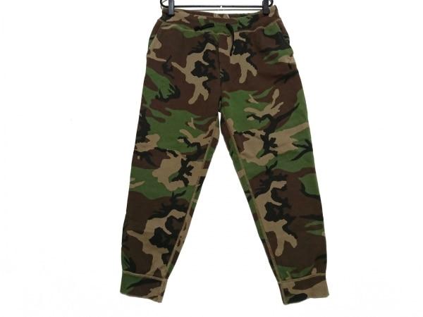 ポロラルフローレン パンツ サイズL メンズ美品  ダークグリーン×黒×ダークブラウン